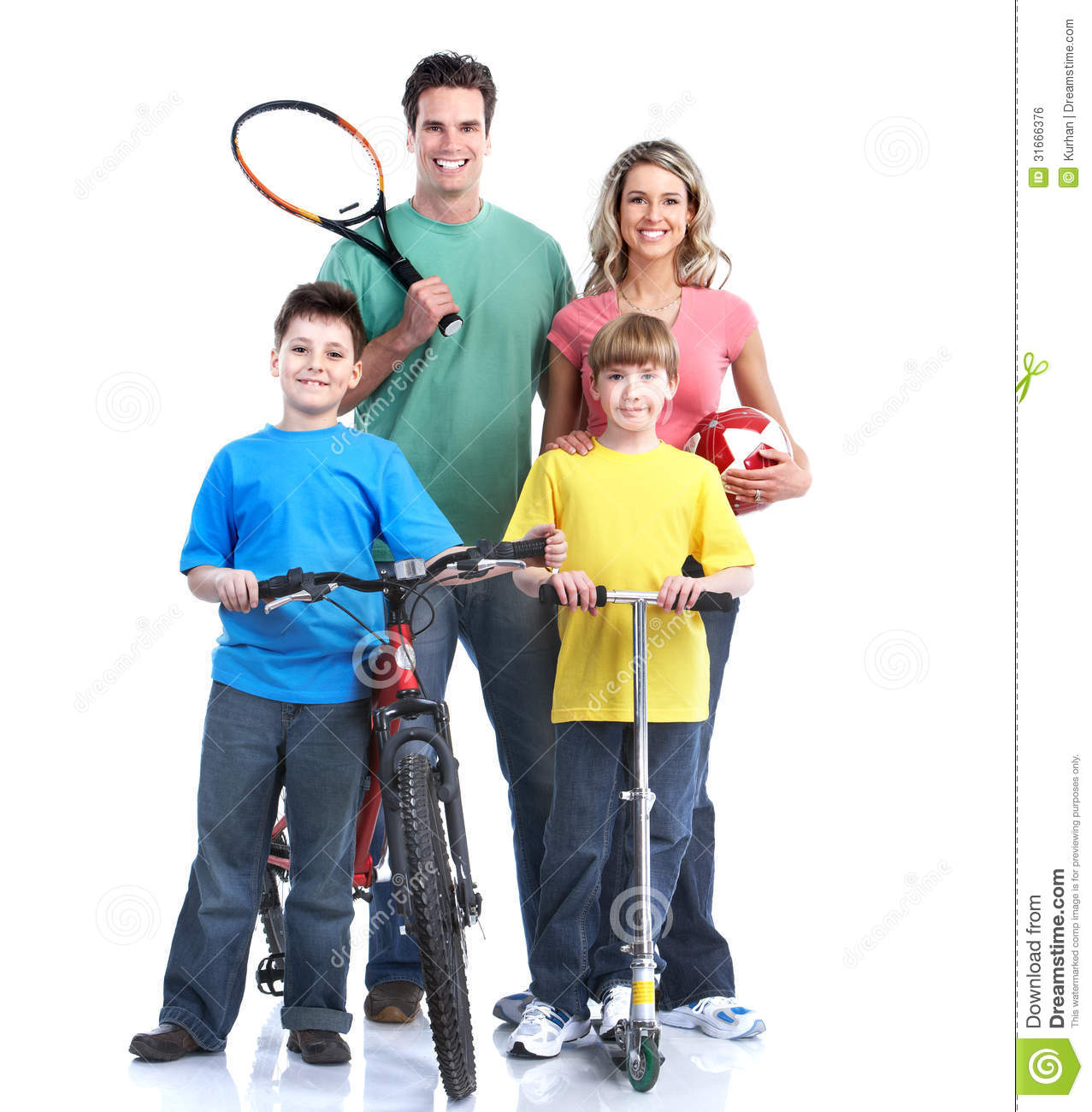 Happy Family. Royalty Free Stock Image - Image: 31666376