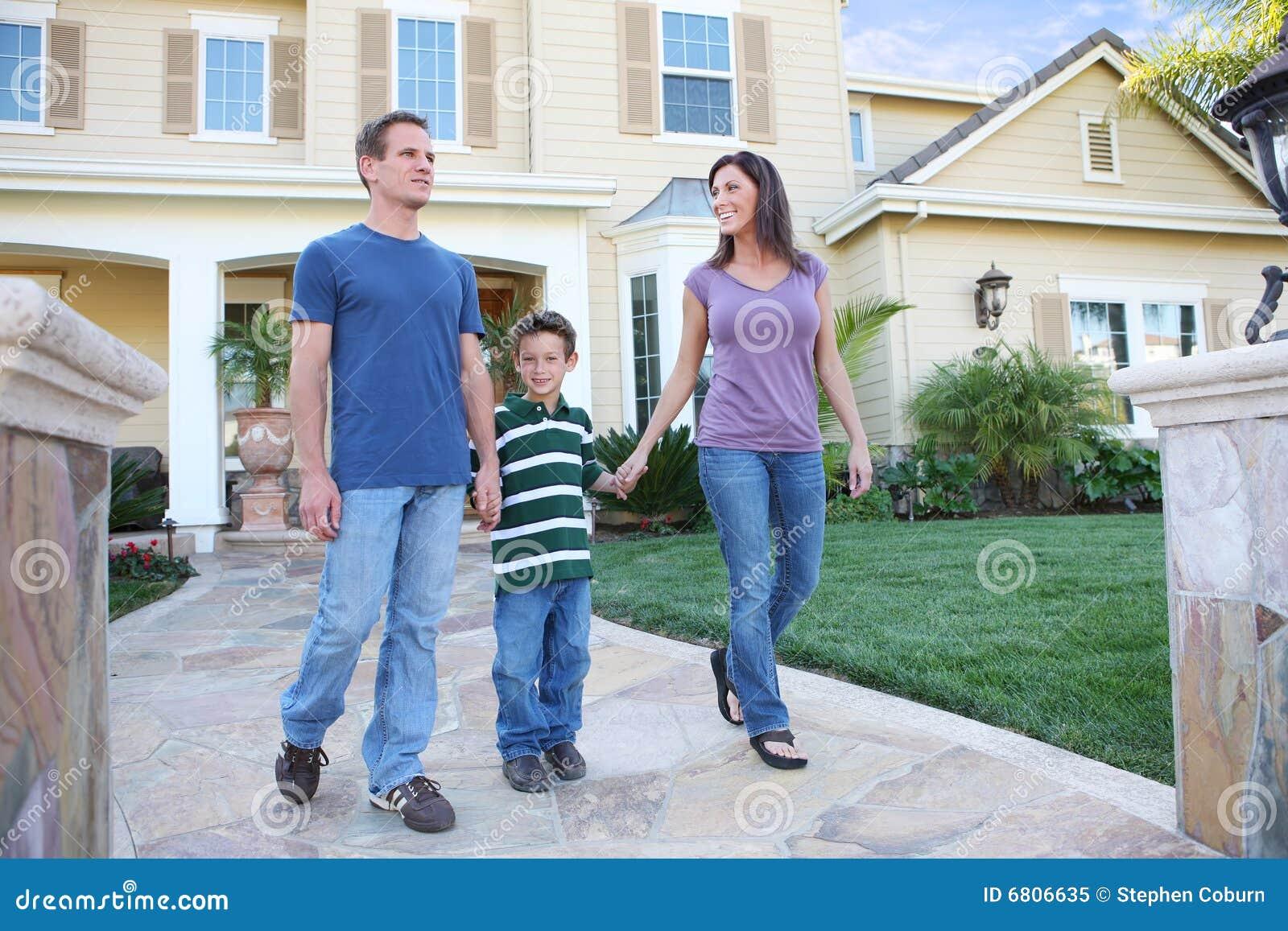 Happy Family At Home Royalty Free Stock Photo