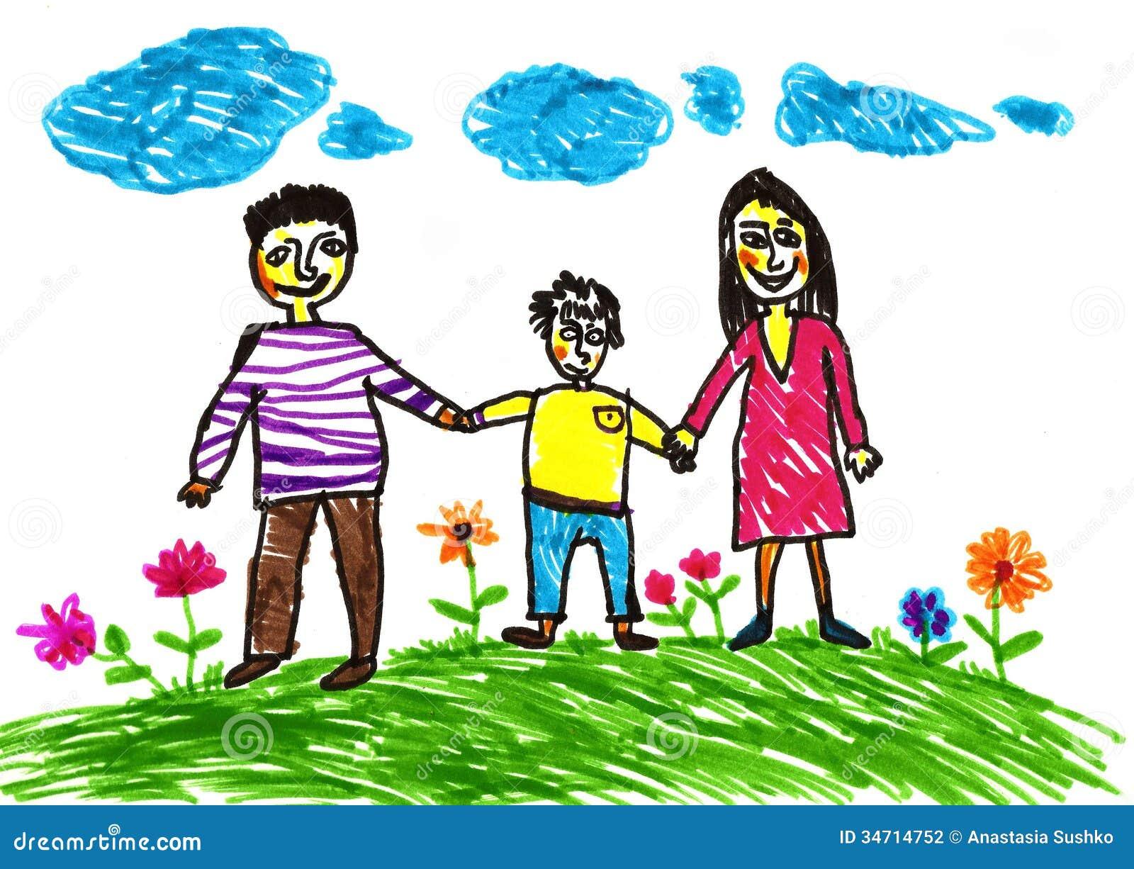 Happy Family. Stock Photography - Image: 34714752