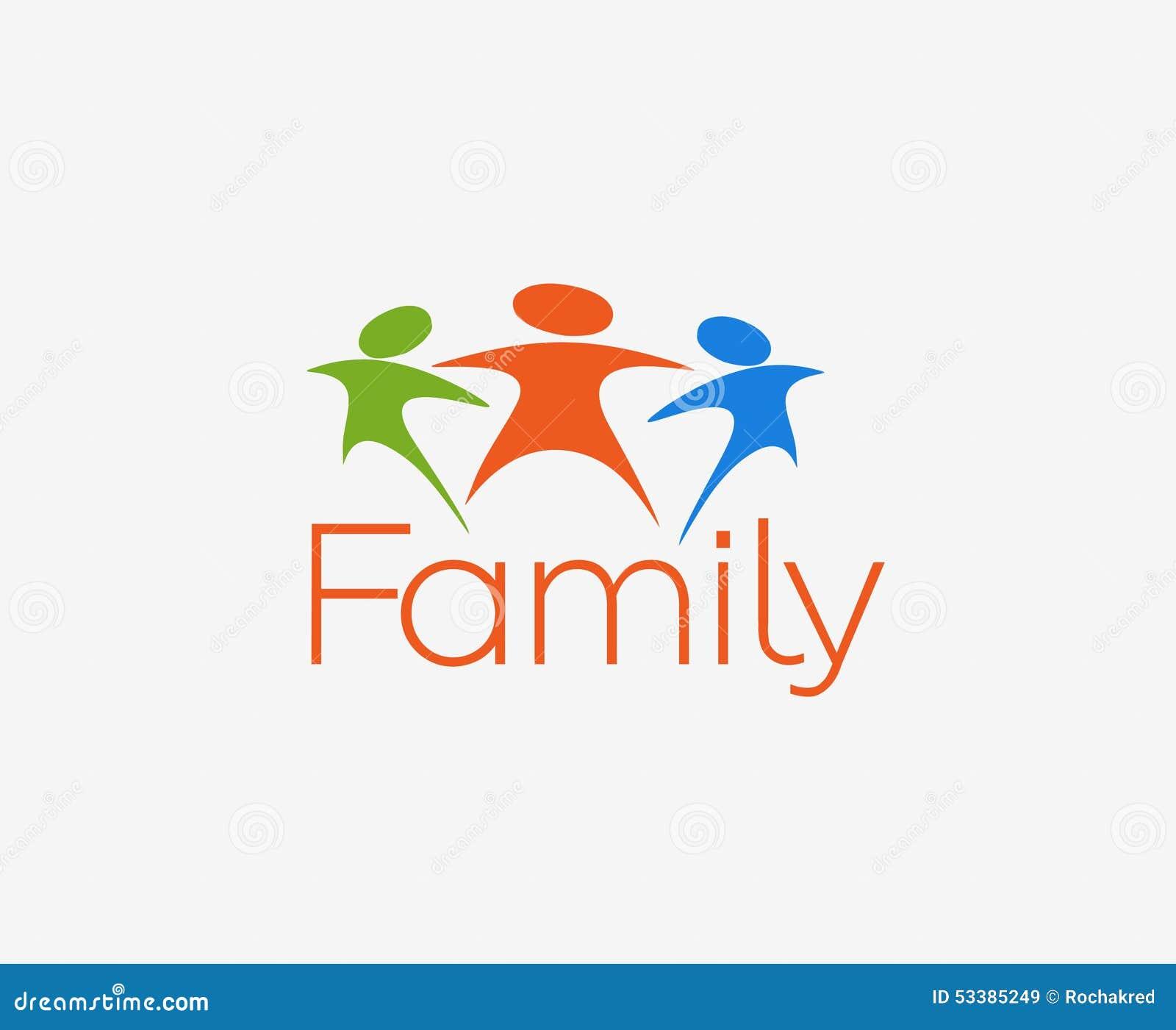 Cartoon vector family