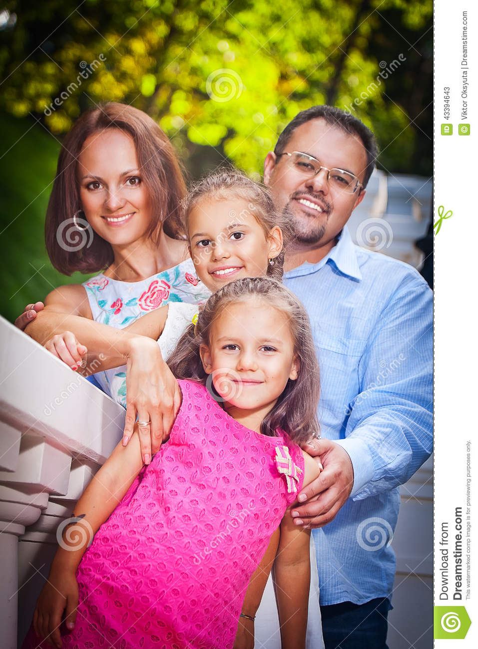 Happy Family Stock Photo - Image: 43394643