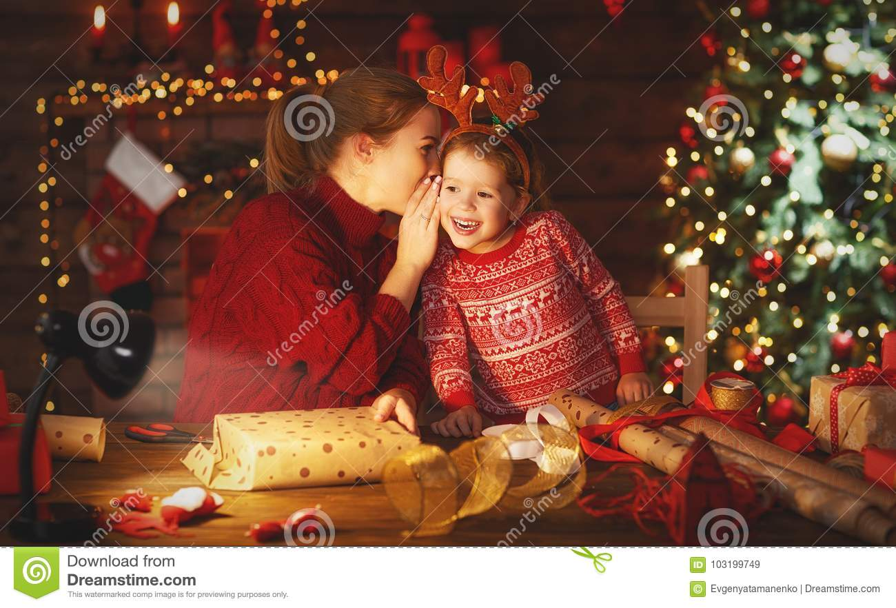 download happy family mother and child pack christmas gifts stock image image of adult