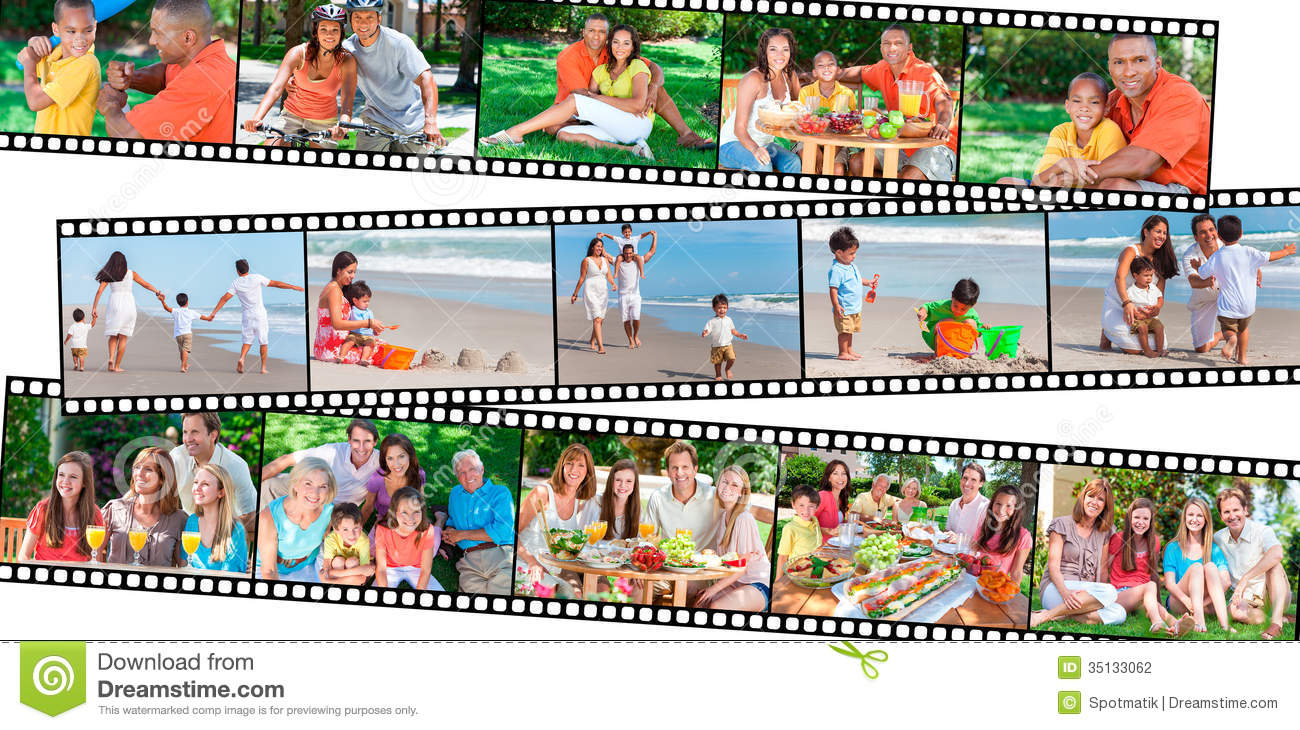 Happy Family Parents & Children Healthy Eating Lifestyle