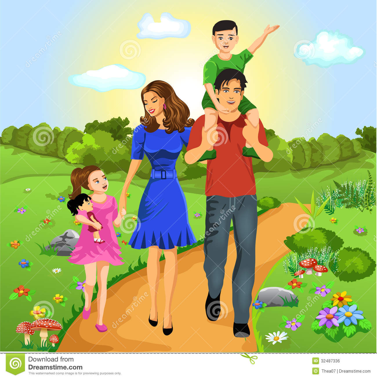 Image Gallery Happy Family Animation