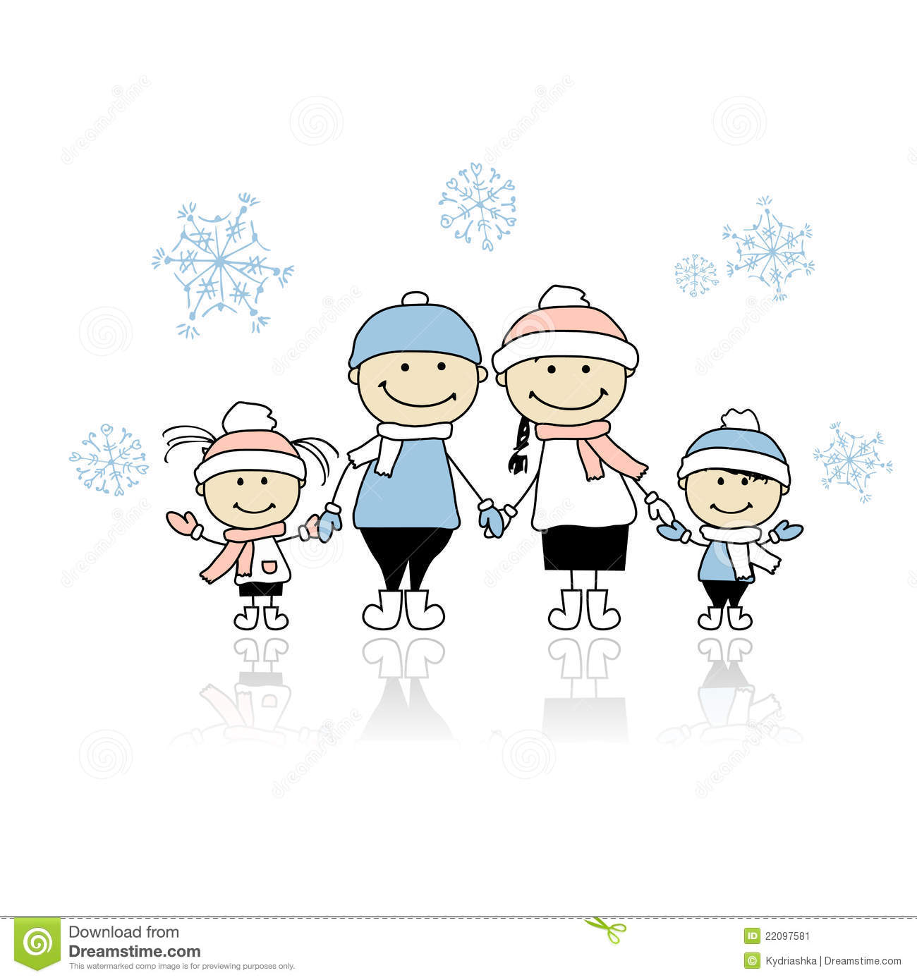 happy family smiling together christmas holiday stock