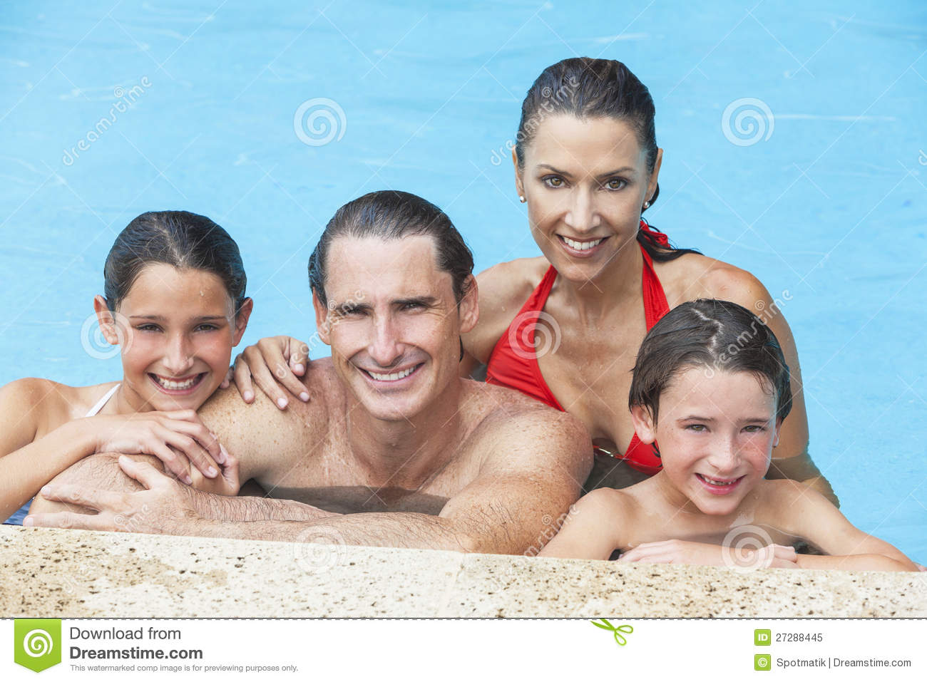 Mother daughter swimming pool hot girls wallpaper for Family swimming pool