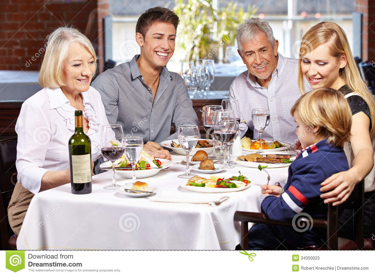 Happy Family Together Stock Image Of