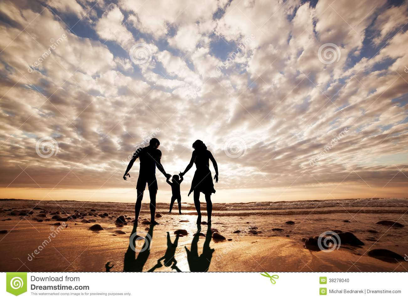 happy family together hand in hand on the beach stock parents and daughter clipart mother father and daughter clipart