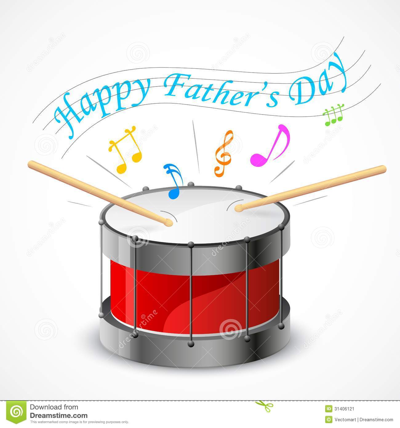 Happy Father's Day Stock Image - Image: 31406121