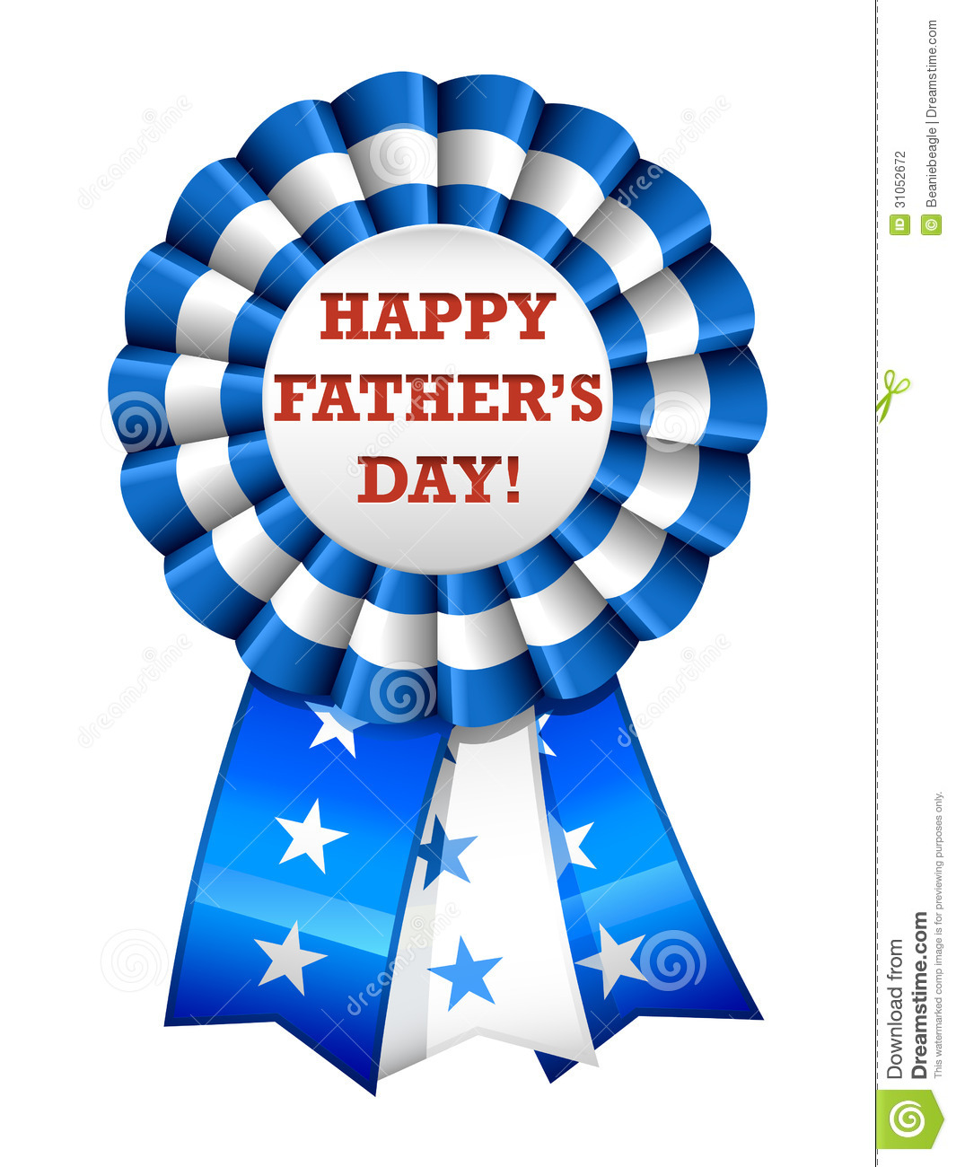 Happy Father s Day Ribbon