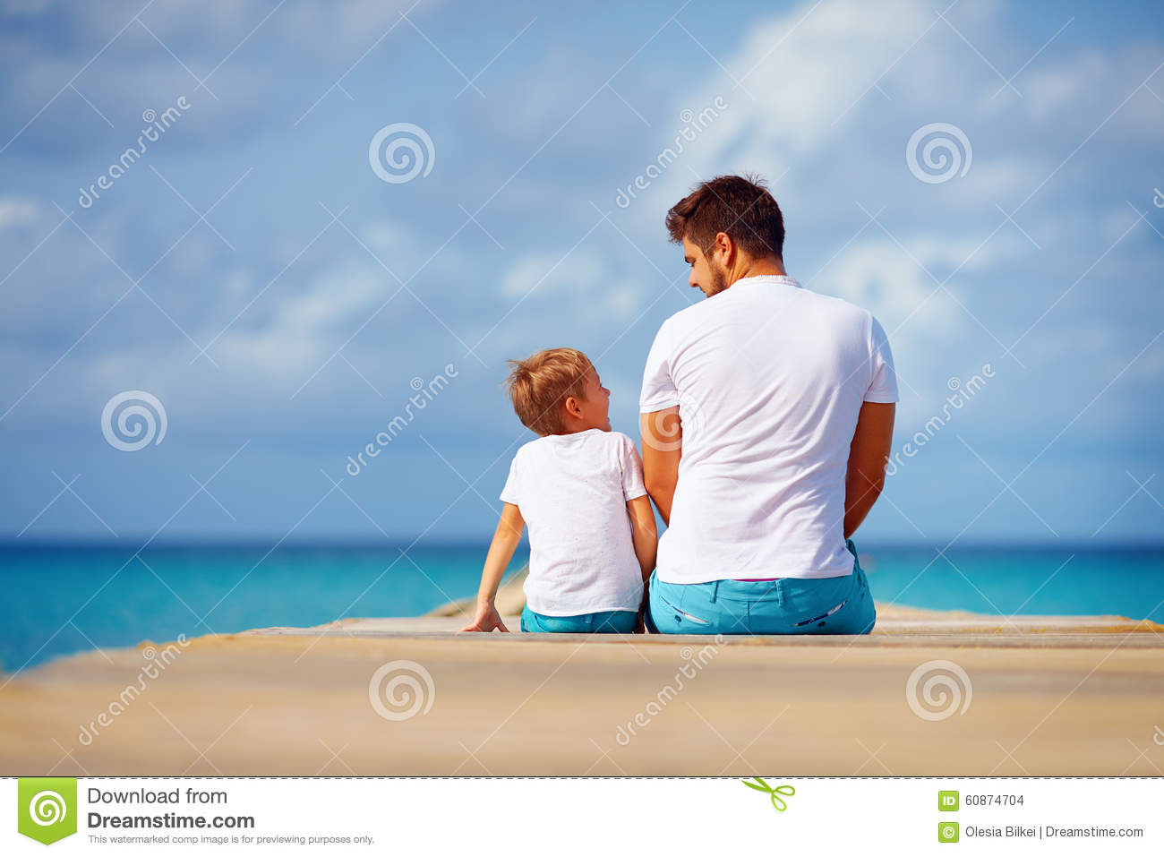 Family Playing Together Clipart Happy Father And Son S...