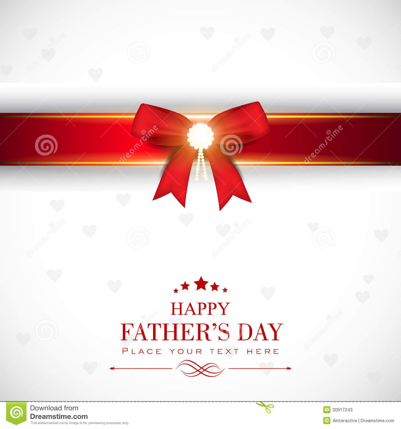 Happy Fathers Day Concept.