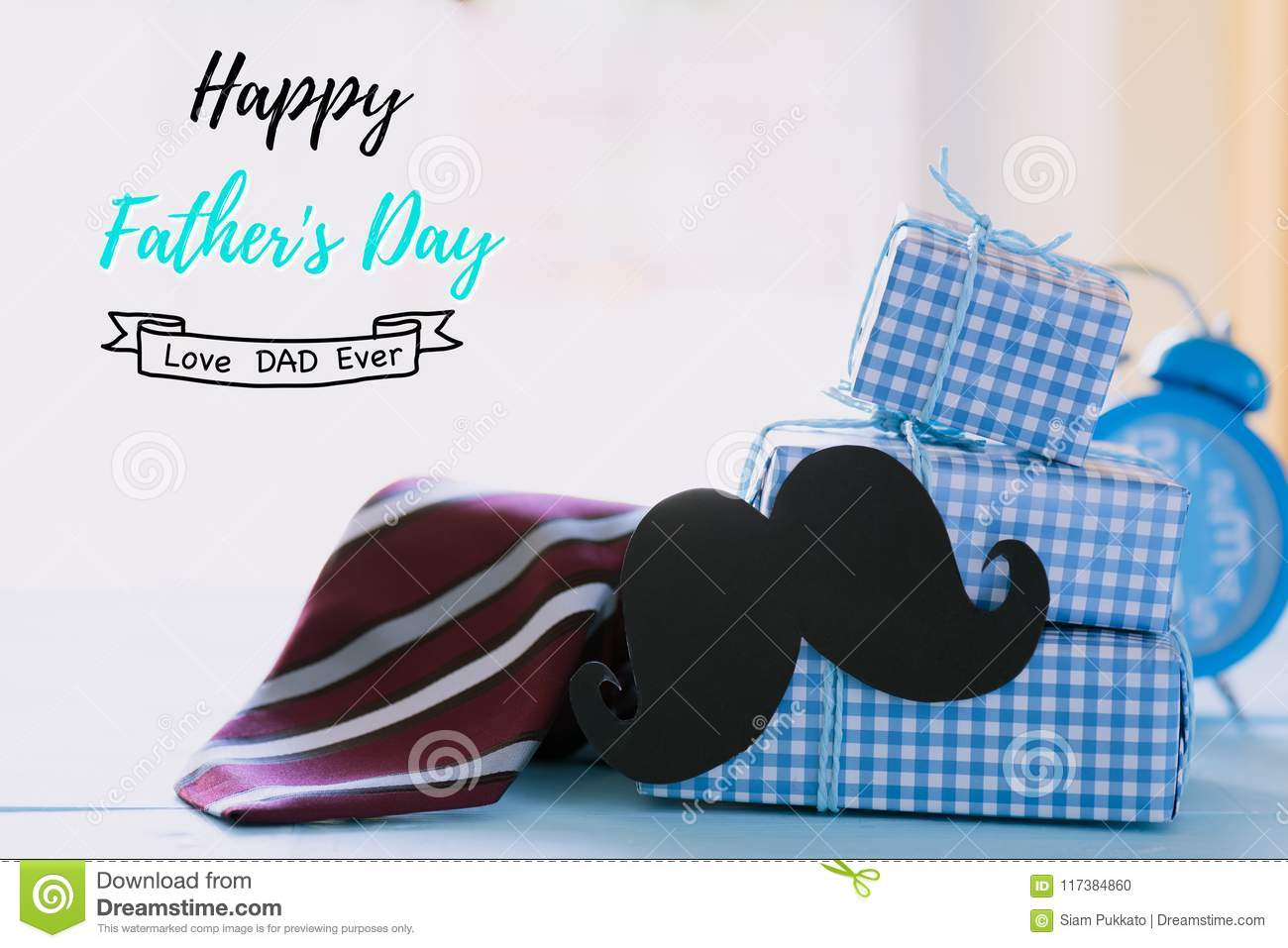 Happy fathers day concept. stock photo. Image of colorful ...