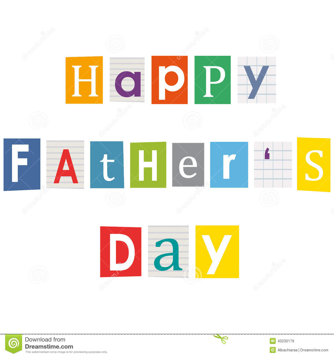 Happy fathers day stock vector illustration of magazines 40230179 download comp spiritdancerdesigns Gallery