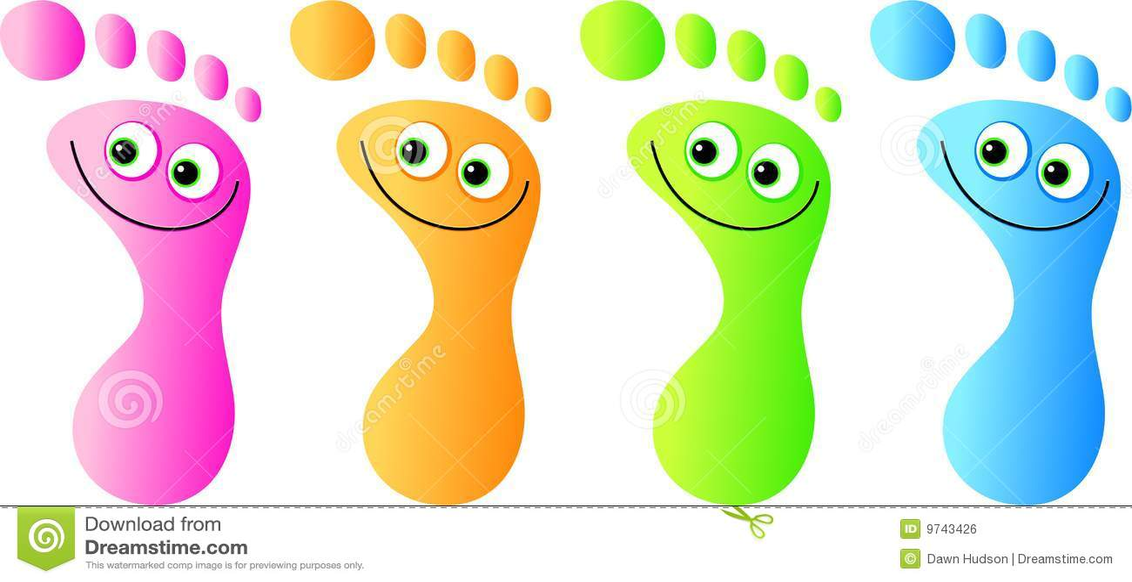 Happy Feet Roya... Abstract Line Pattern Vector