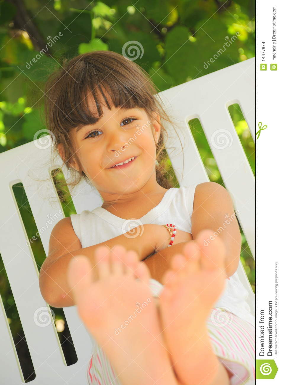 Pity, that young girl model feet