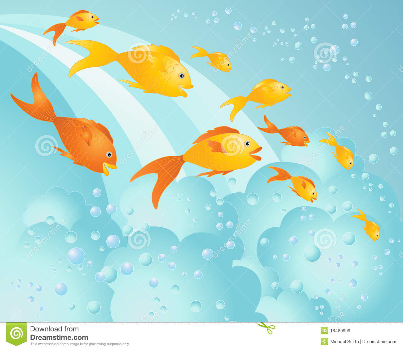 Happy fish royalty free stock images image 18480999 for Happy fish swimming