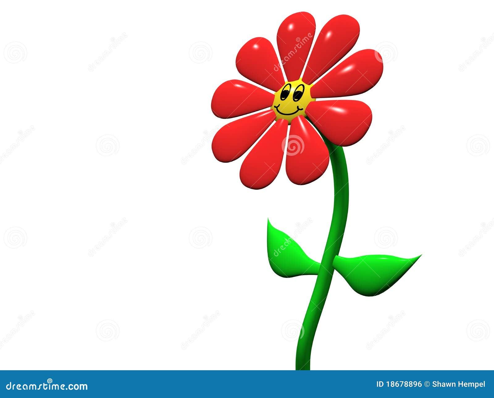 Happy Flower Royalty Free Stock Image Image