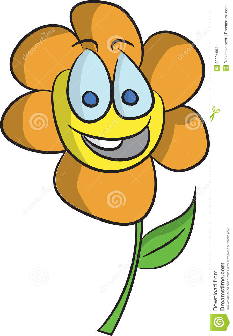 Happy Flower Stock Images Image 33334994