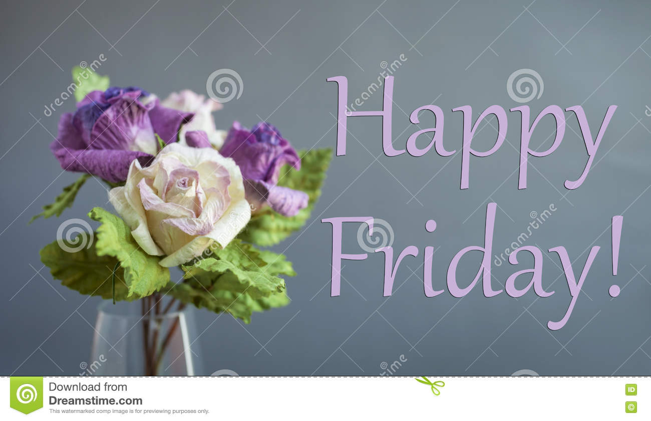 Happy Friday Card Stock Image Image Of Gift Colorful 78067313