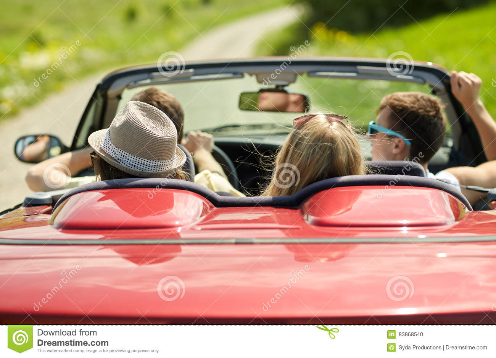 Driving A Rental Car For Road Trip