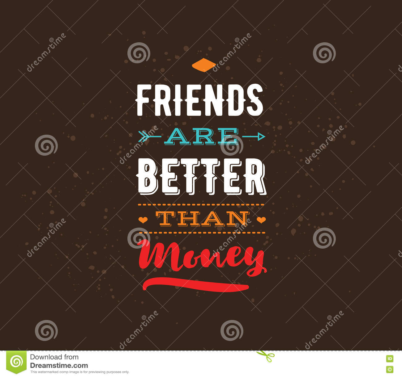 Happy Friendship Day Vector Typographic Design Holiday Fashion