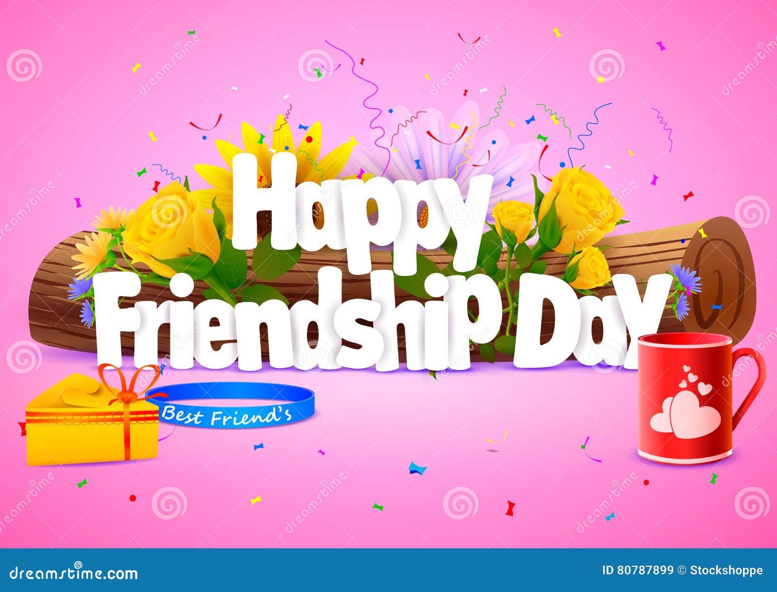 Happy Friendship Day wallpaper background