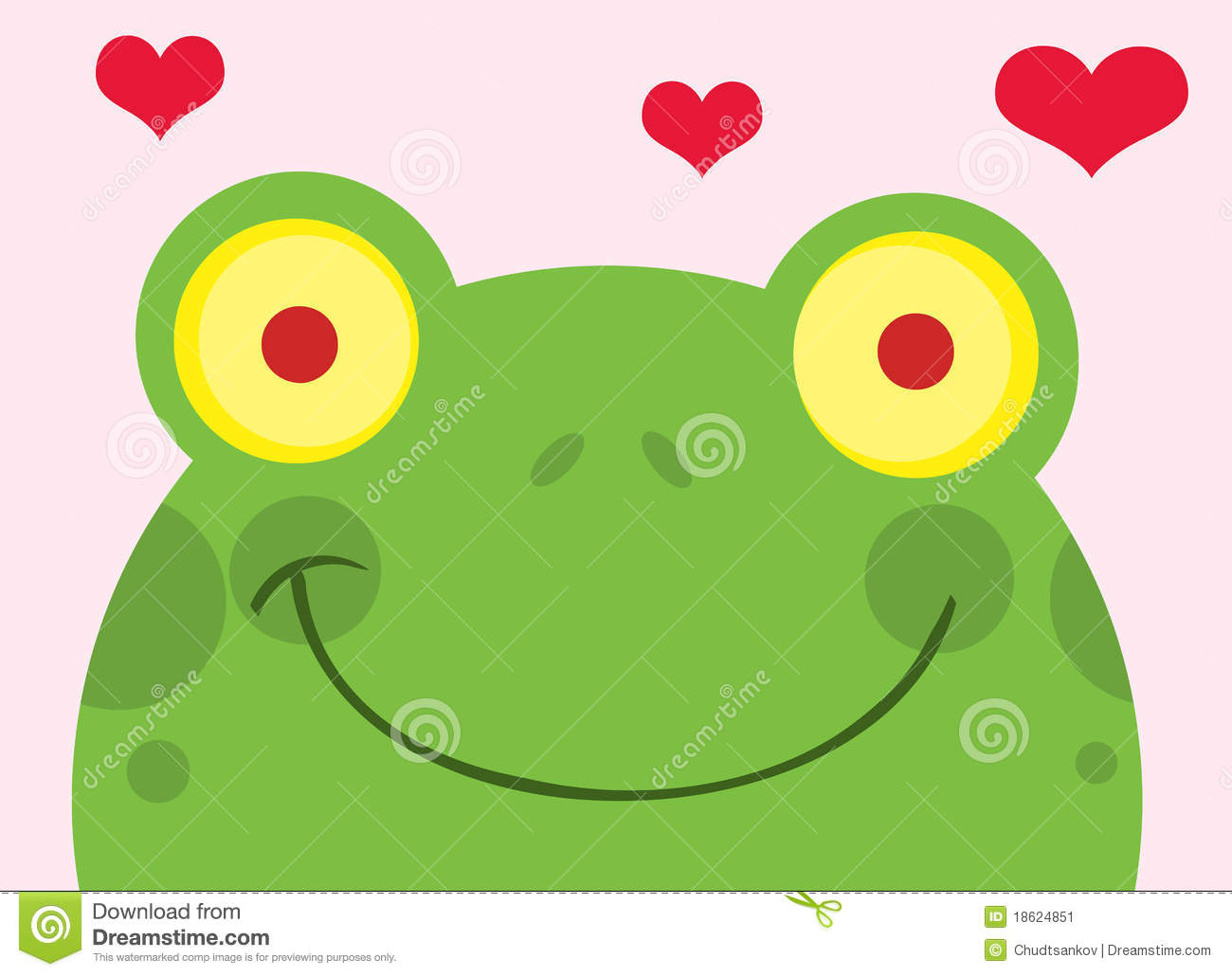 Heart stock illustration royalty free illustrations stock clip art - Royalty Free Stock Photo Face Frog Hearts Images