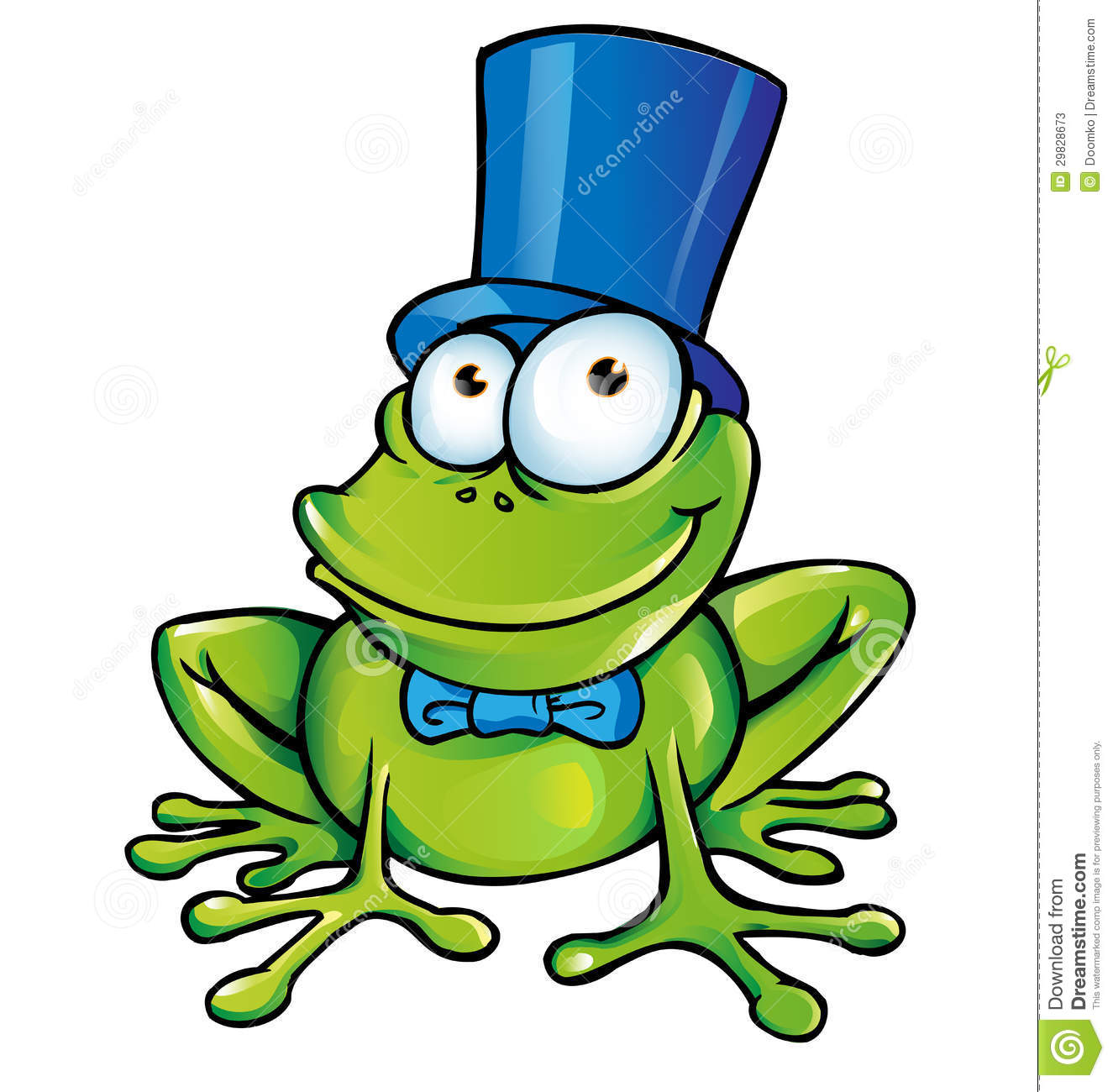 Funny Frog Party Stock Photos - Image: 29828673