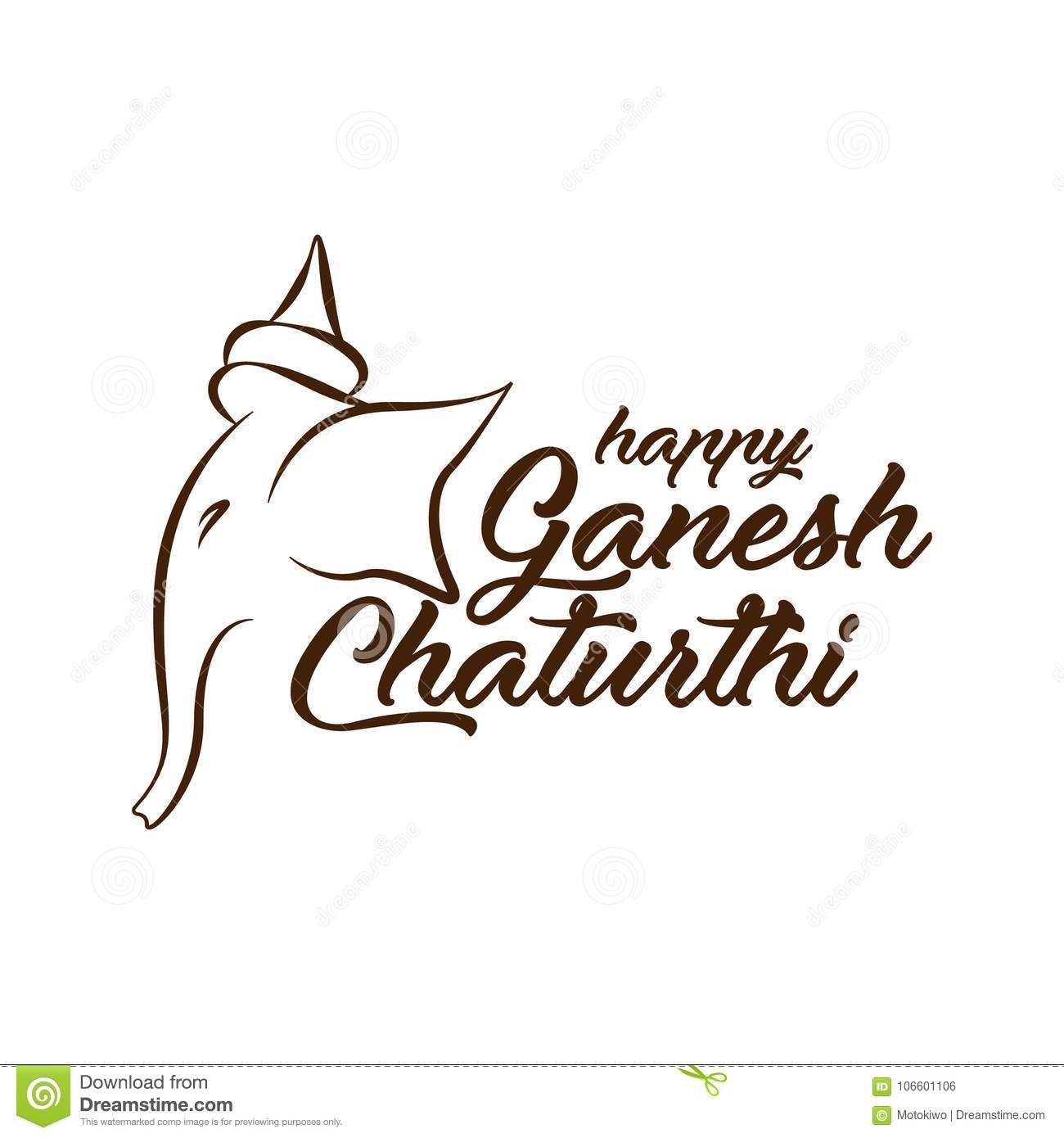 Happy ganesh chaturthi greeting card design stock illustration download happy ganesh chaturthi greeting card design stock illustration illustration of illustration morya m4hsunfo