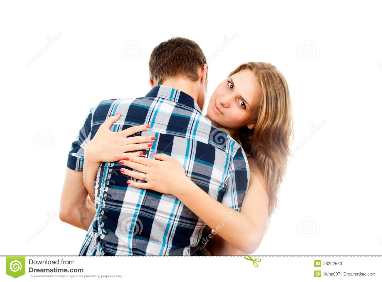 Guy And Girl Kissing Stock Images, Royalty-Free Images