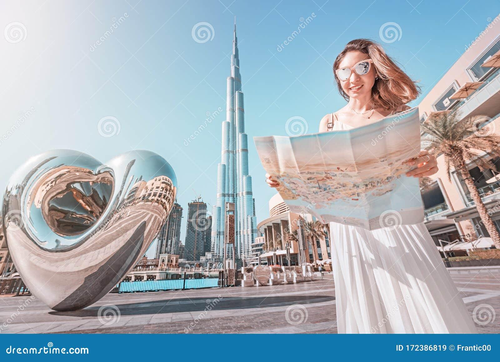Dubai Tourist Places Map