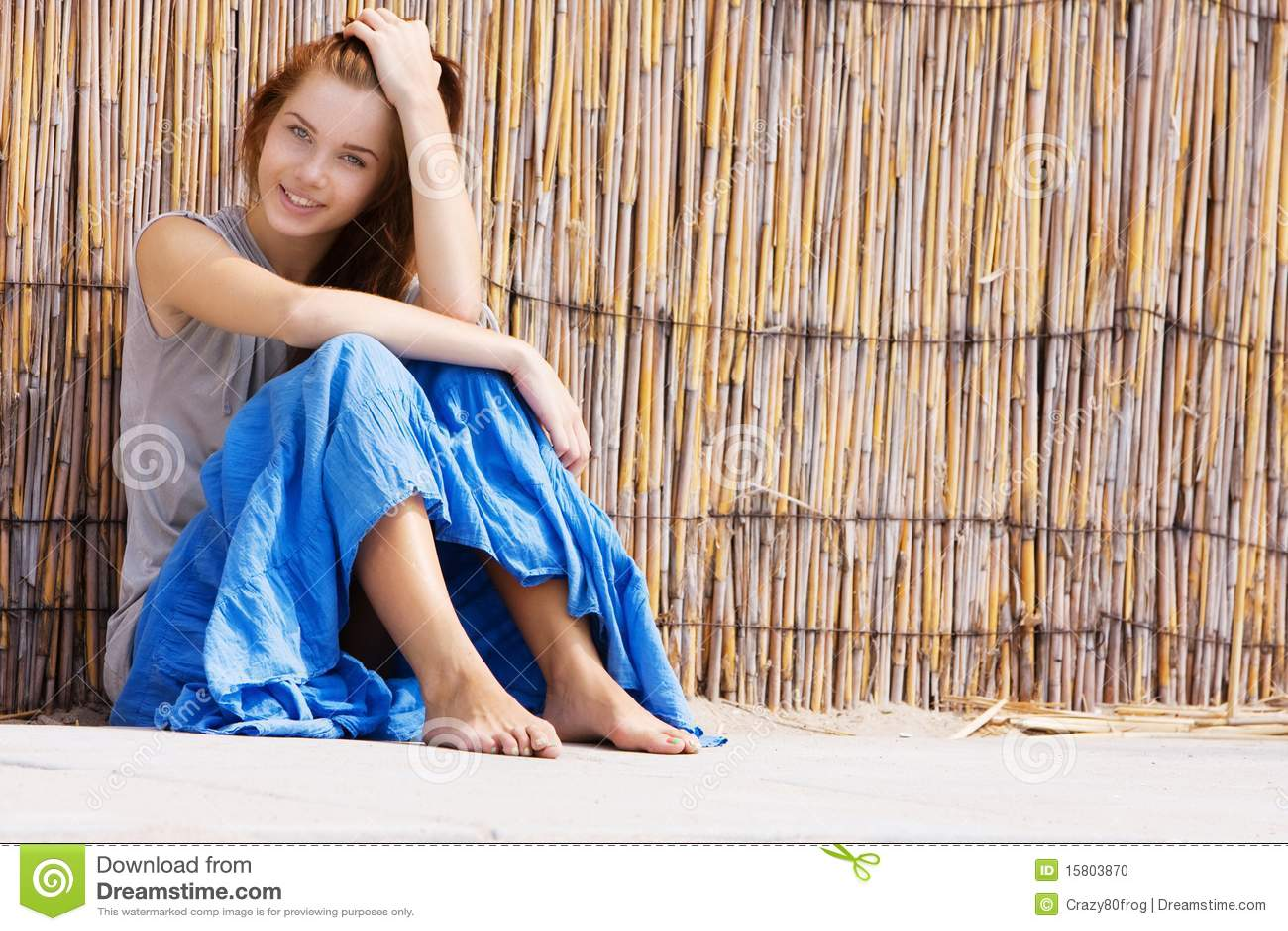 Bamboo girl