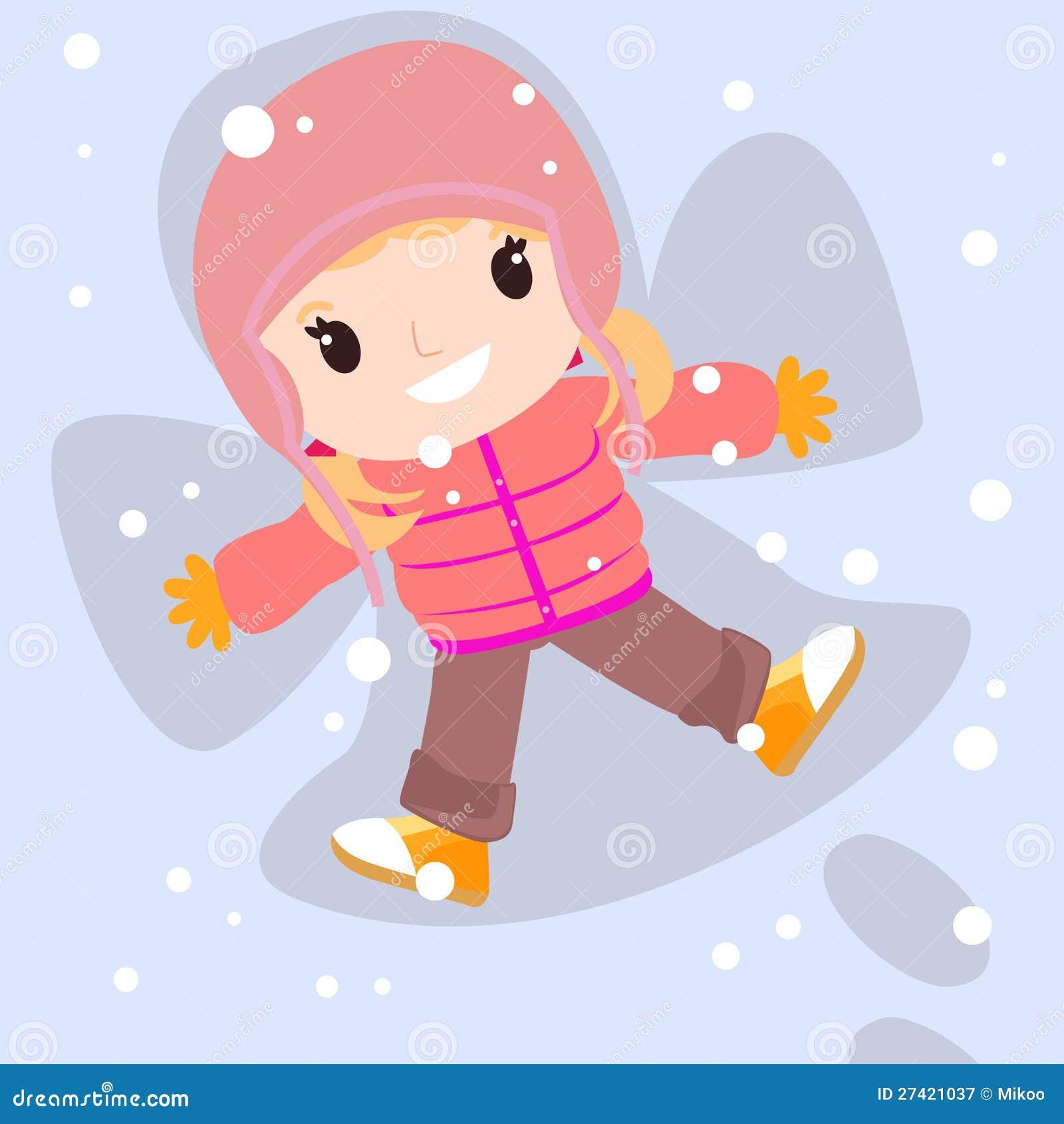 snow angel wallpaper cartoon - photo #14