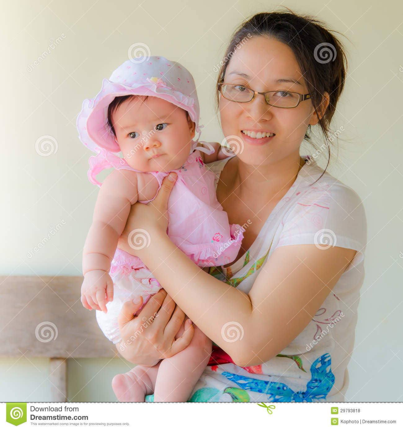 Happy Mother Holding Sweet Baby Royalty Free Stock Photos ...