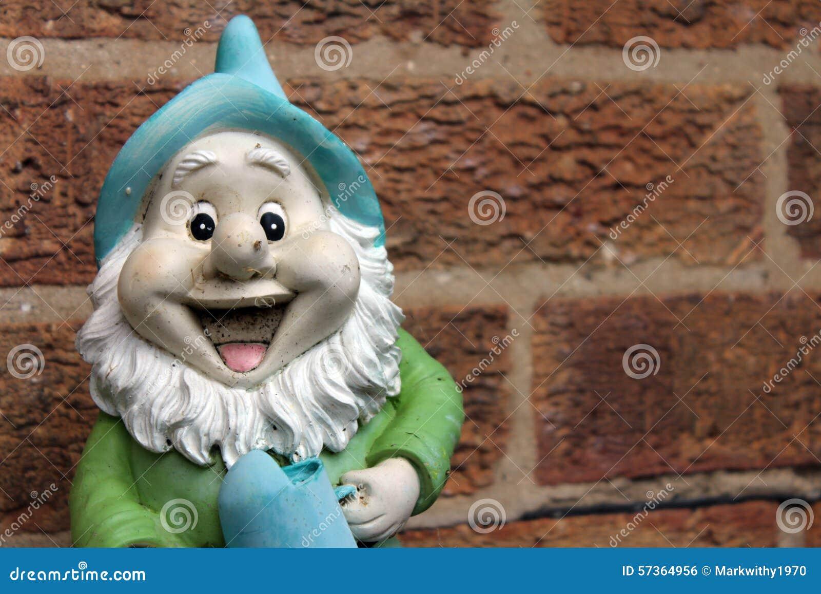Happy gnome stock photo. Image of happy, smiling, smile - 57364956