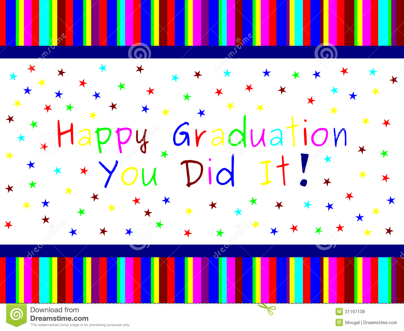 Happy Graduation Image Message Thank You Stock Photos Royalty