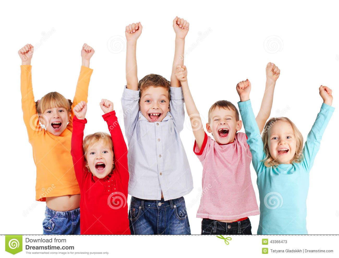 happy group kids with their hands up stock photo image clip art laughing buddha clip art laughing hard