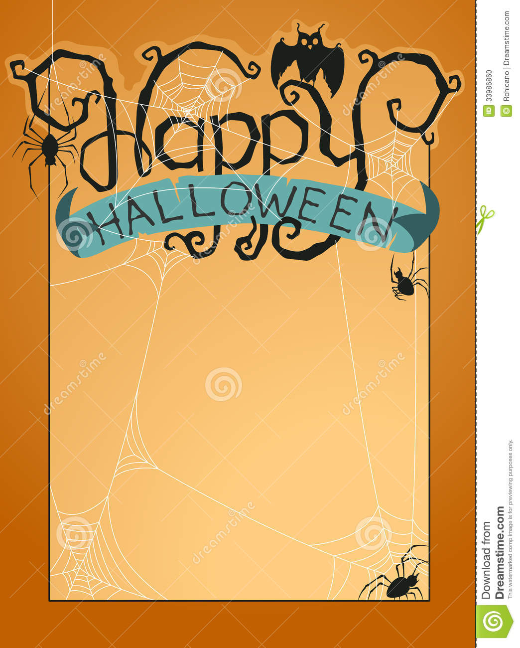 Happy halloween vector pictures