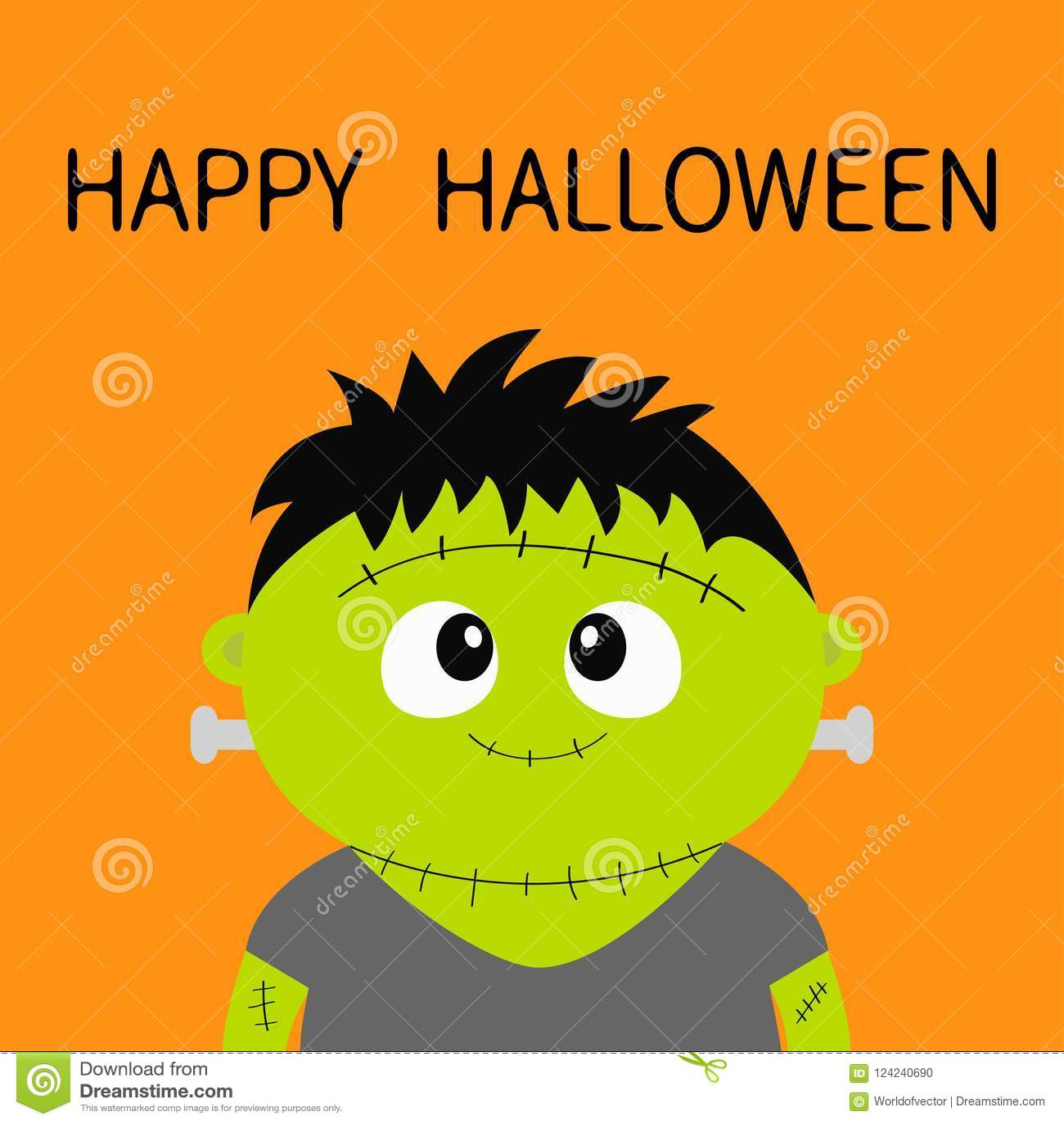 Look - Halloween Happy animation pictures video