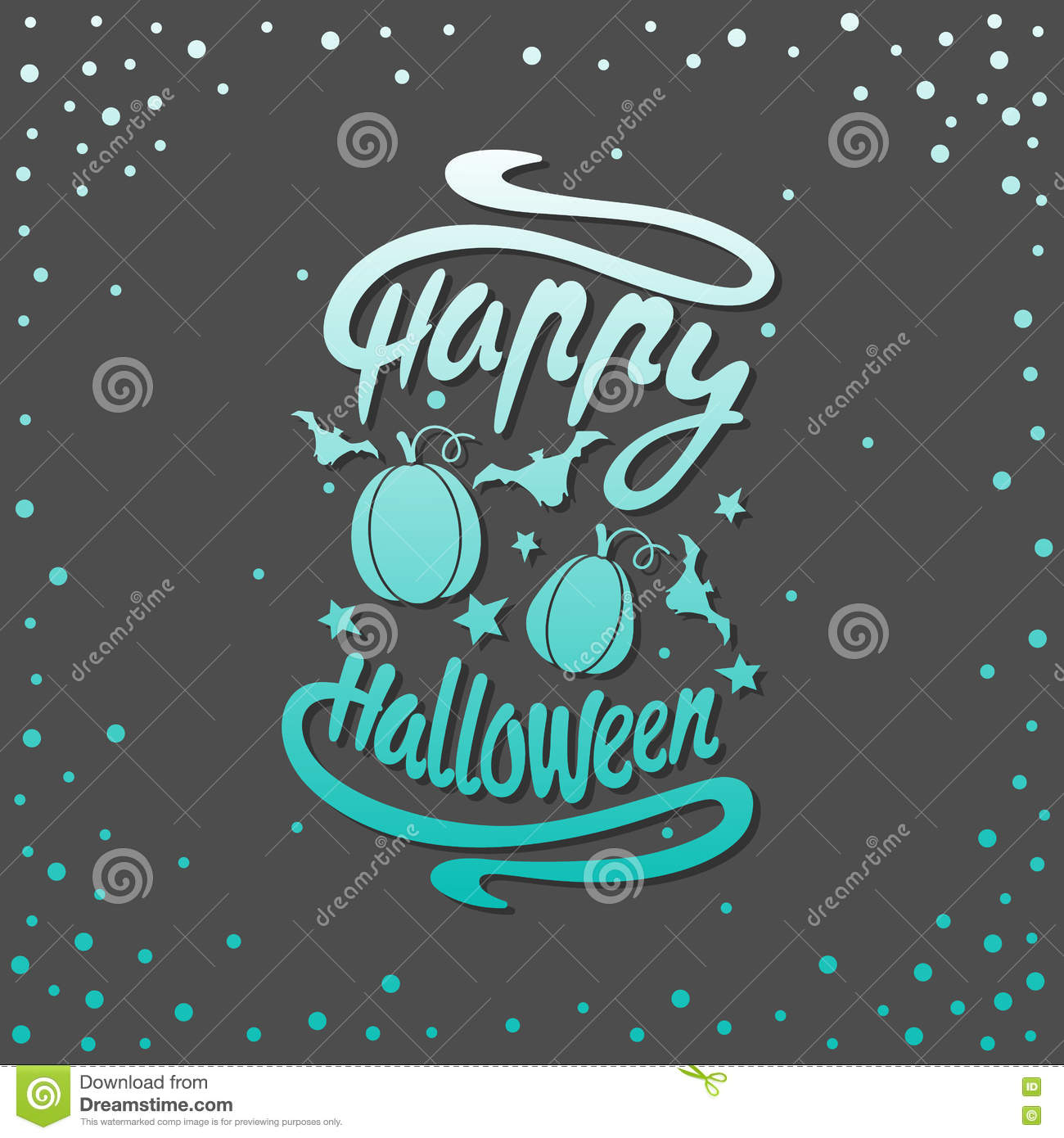 Happy halloween message stock vector illustration of background happy halloween message design background vector illustration this illustration can be used as a greeting invitation poster print on t shirt or bag m4hsunfo