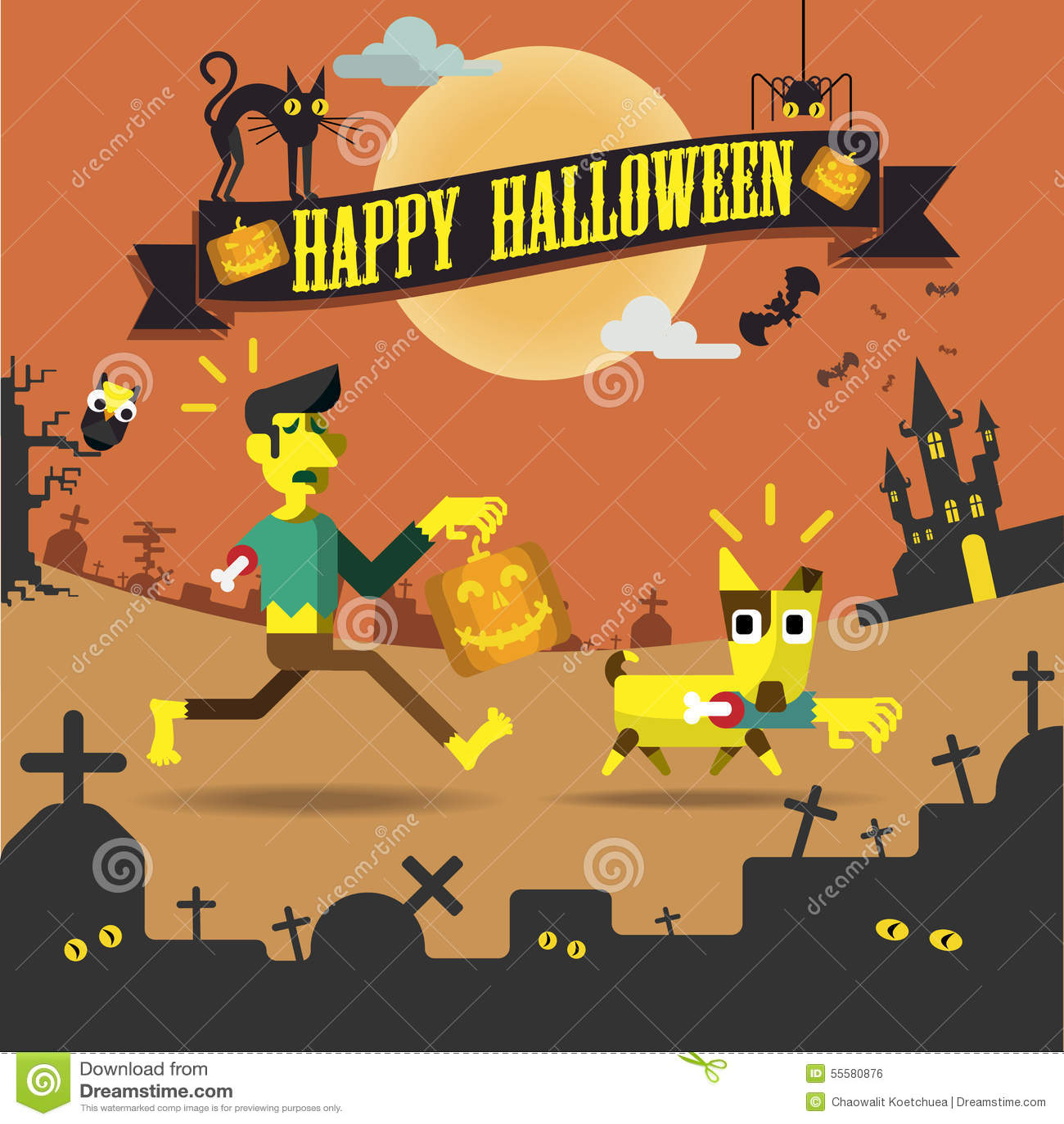 Happy Halloween Night Party