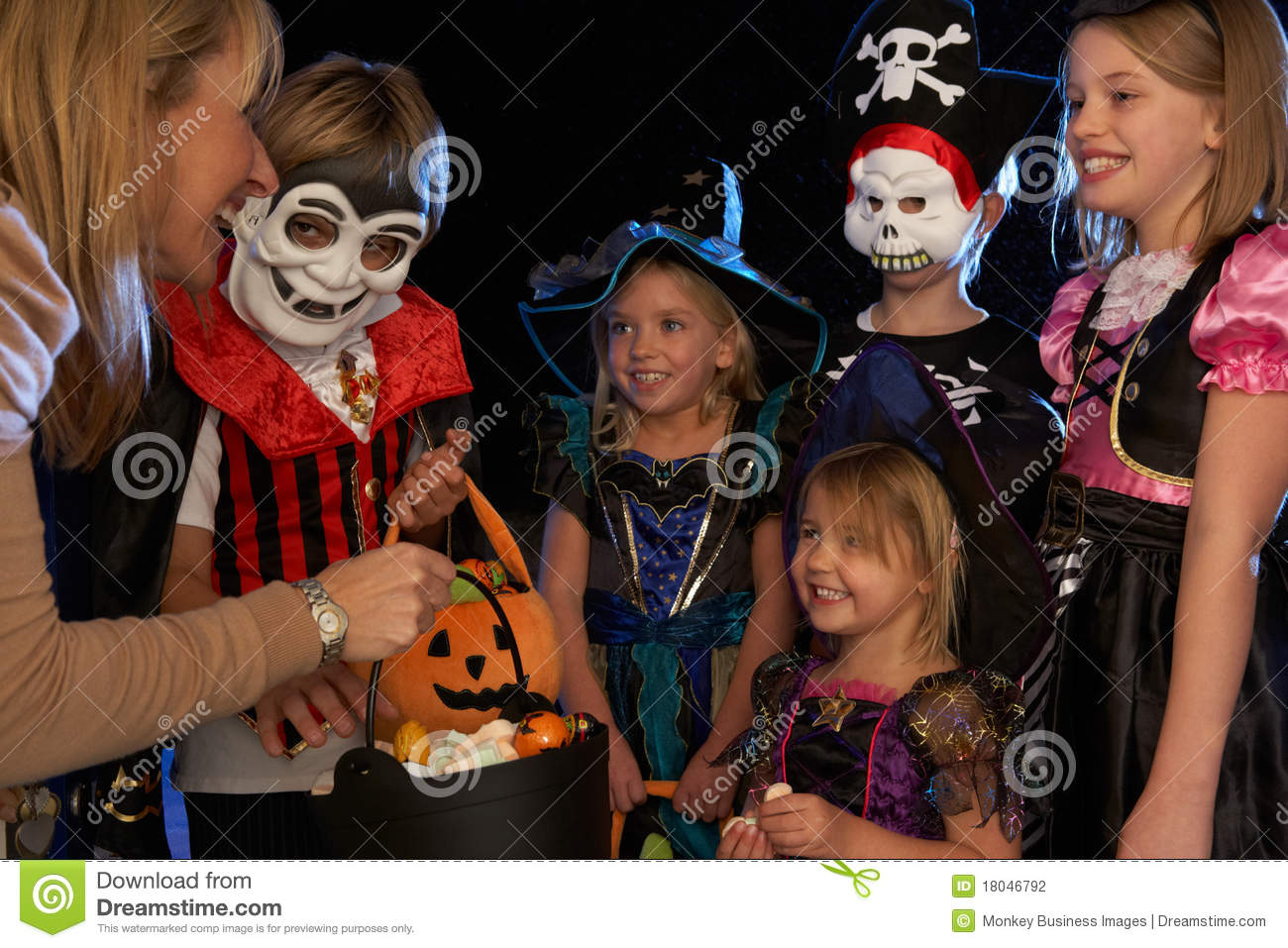 Less Kids Trick Or Treating