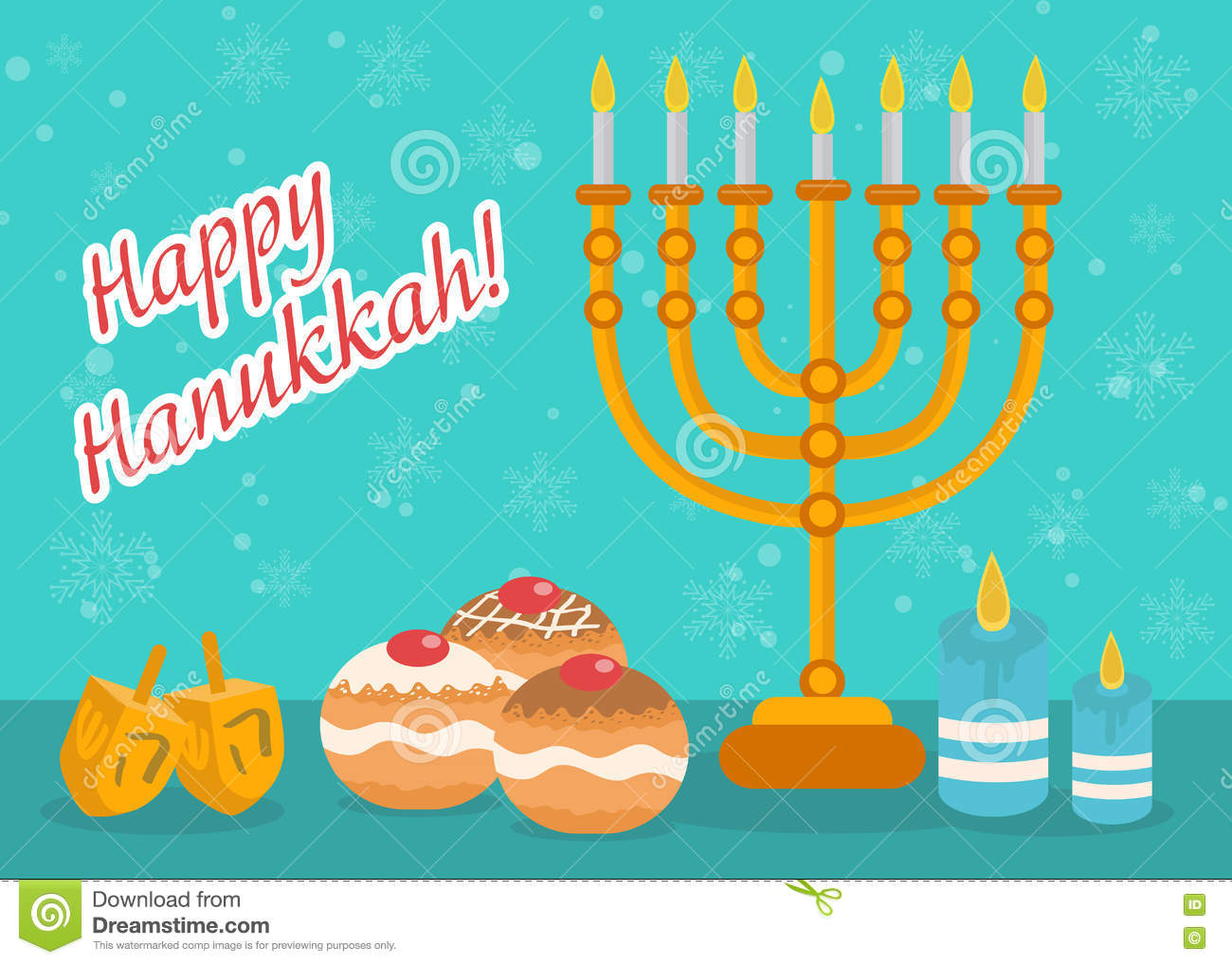 Happy hanukkah greeting card invitation poster hanukkah jewish download happy hanukkah greeting card invitation poster hanukkah jewish festival of lights stock m4hsunfo