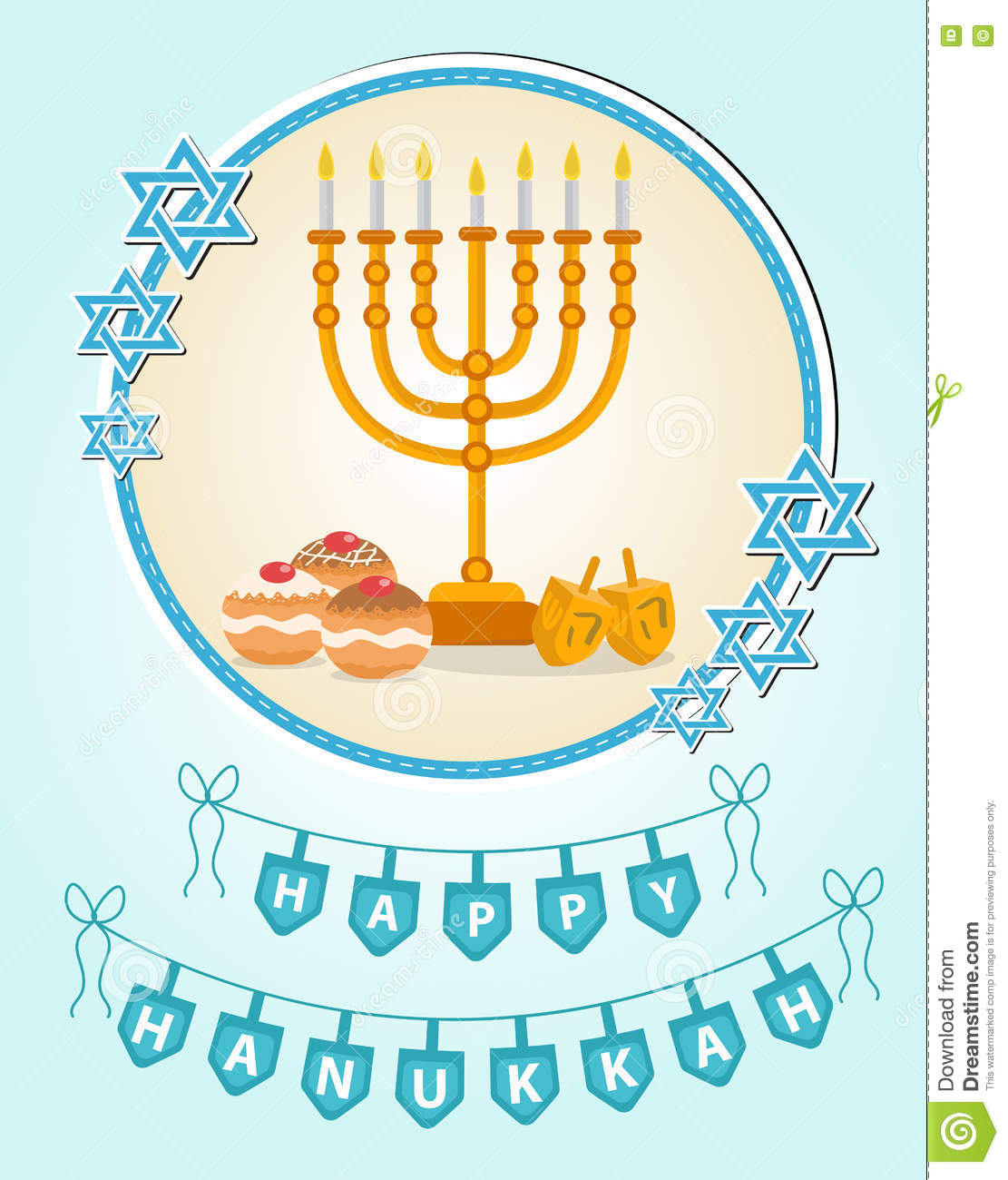 Happy hanukkah greeting card invitation poster hanukkah jewish happy hanukkah greeting card invitation poster hanukkah jewish festival of lights feast of dedication hanukkah greeting card candle background kristyandbryce Choice Image