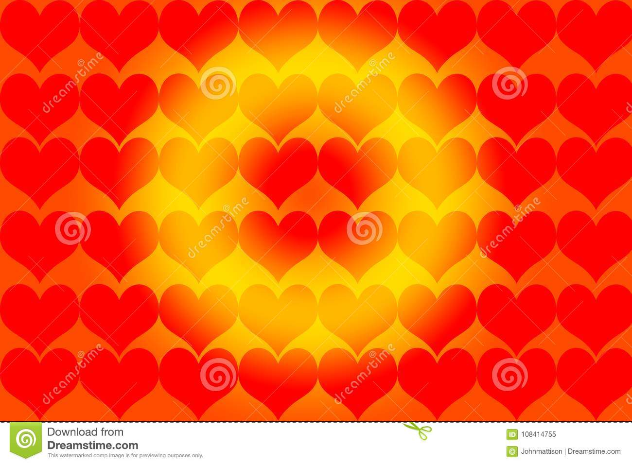Happy Heart Valentine Day Sunshine Stock Illustration - Illustration