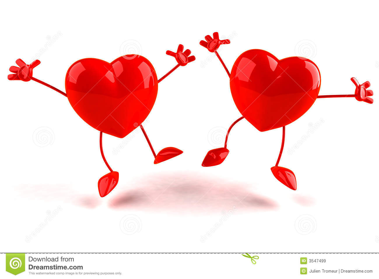 Happy Hearts Royalty Free Stock Images - Image: 3547499