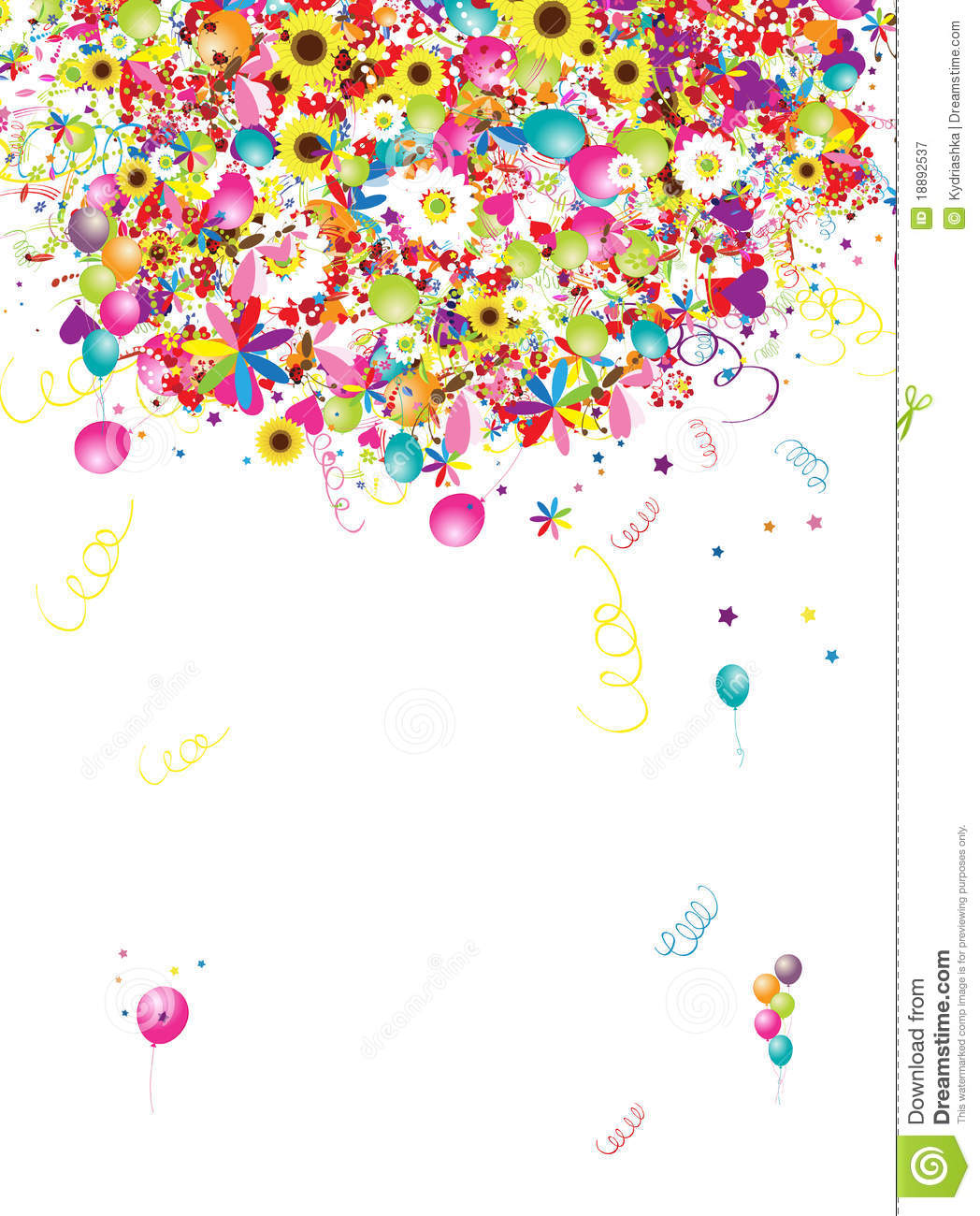 Royalty Free Stock Photography Happy Holiday Funny Background With