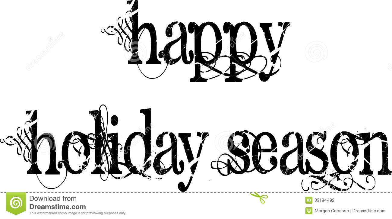Happy New Year Clip Art Black And White | New Calendar Template Site