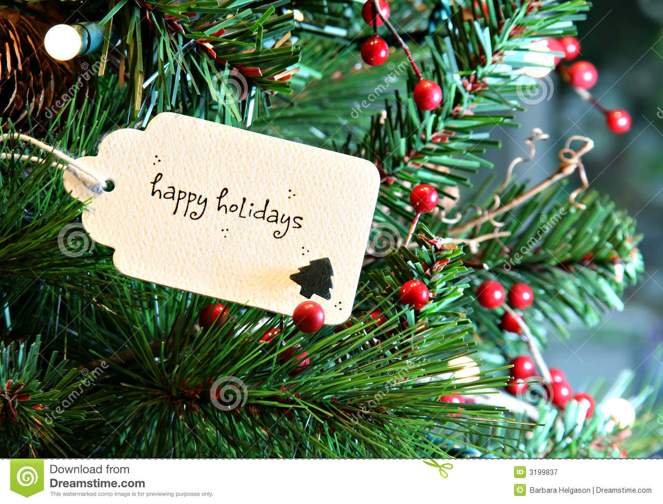 Happy Holidays stock image Image of copyspace happy 3199837